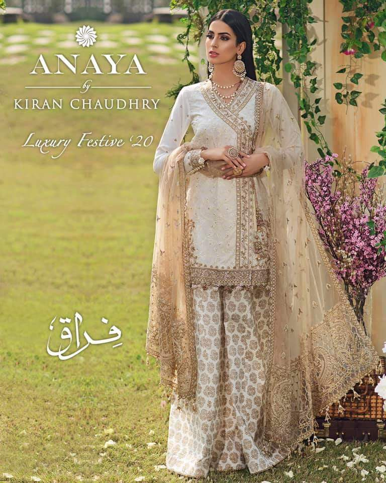 Anaya FIRAAQ 2020 Luxurious Pakistani suit for eid and festive