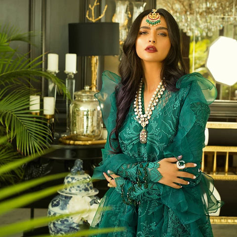 Mina Hasan Regalia Pakistani Designer Suit 2020 Collection in UK USA Online Sale