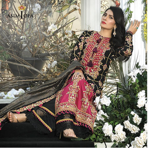 Asim Jofa Mahsa Lawn Collection 2021 online
