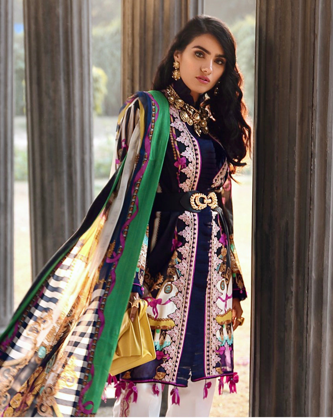 Zaha Pakistani suit UK