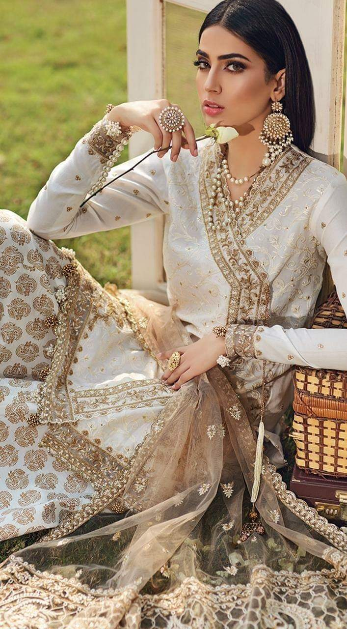 Firaaq luxury festive 2020 by Anaya Pakistani Designer suit UK