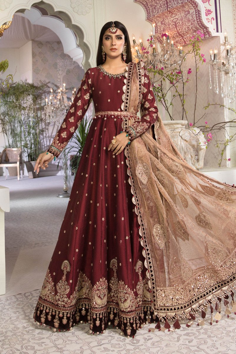 Maria B Mbroidered Wedding Collection 2021 UK