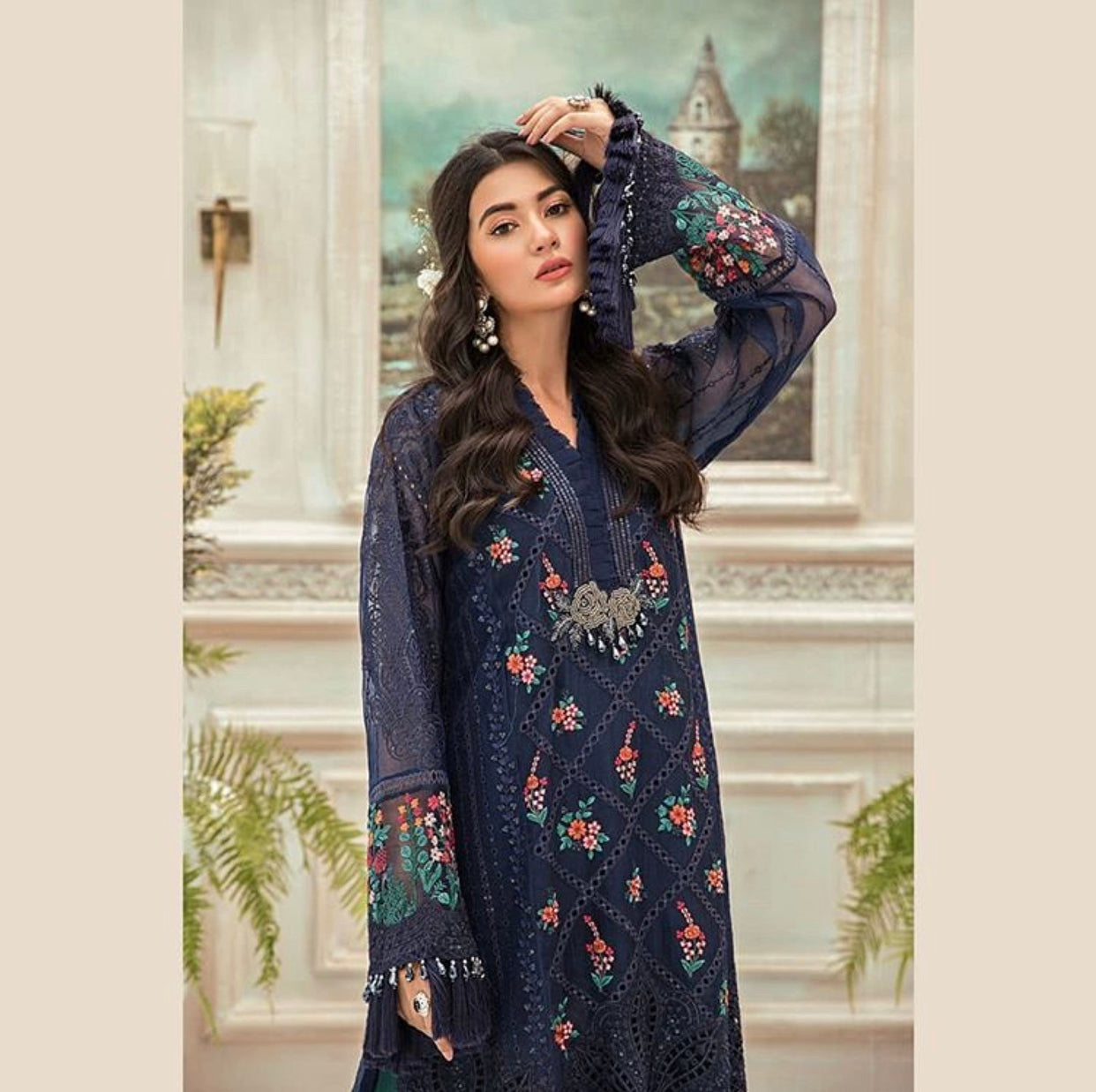 Maria B Mbroidered Chiffon Eid Collection Eid 2020  Clothing designer dresses collection
