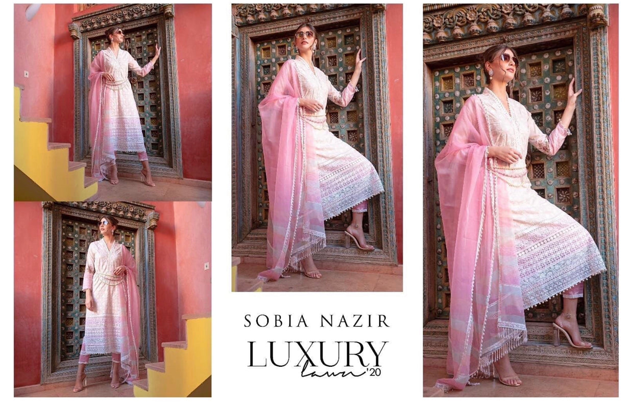 Pakistani designer ready made suits by sobia nazir for Eid wedding