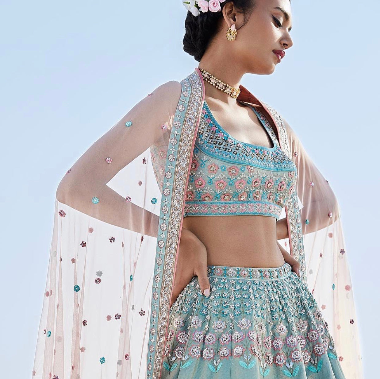 Indian lehenga outfit 2020 sale