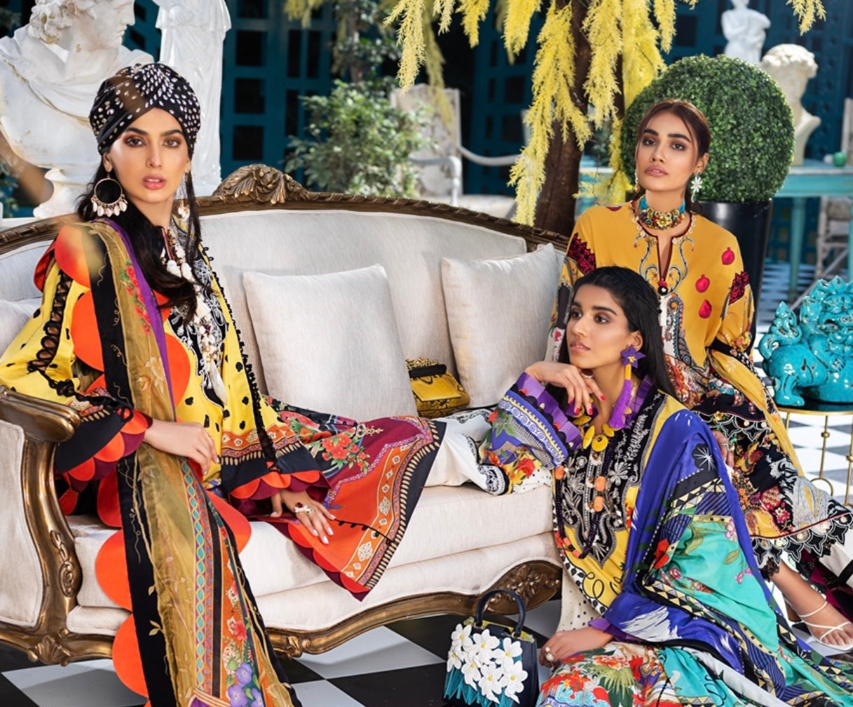 Zaha Pakistani dresses