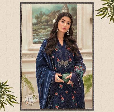 Maria B Mbroidered Chiffon Eid Collection Eid 2020 Indian Bollywood clothing accessories