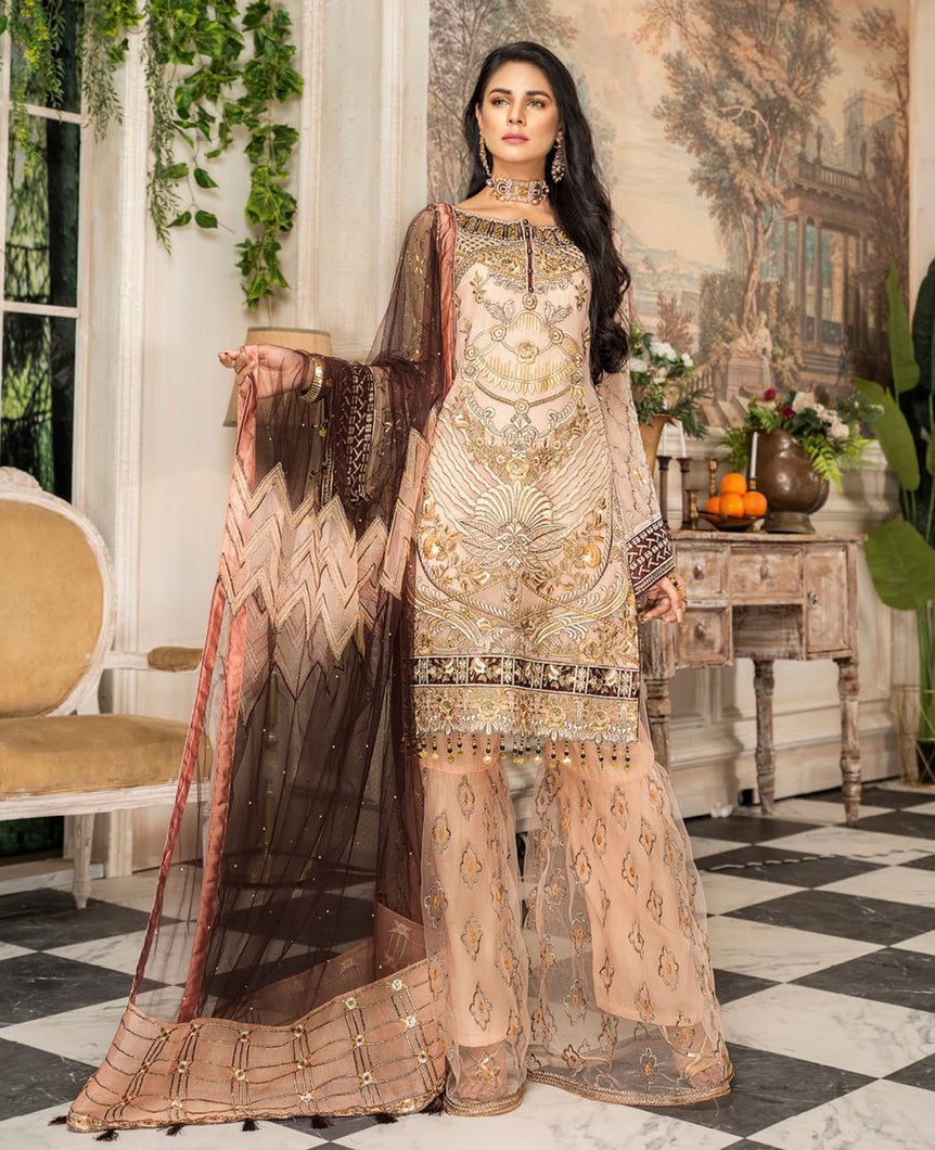 Maryam's Chiffon Eid and Wedding Collection 2020 - MP 161