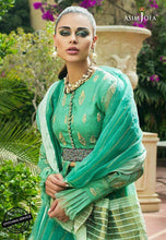 Load image into Gallery viewer, Asim Jofa - ORGANZA COLLECTION 2020-AJO-06 online Pakistani designer dress Anarkali Suits Party Werar Indian Dresses Pakistani Dresses Eid dresses online shopping Ready made Pakistani clothes UK Eid dresses UK online Eid dresses online shopping readymade eid suits uk eid suits 2019 uk pakistani eid suits uk eid suits 2020 uk Eid dresses 2020 UK