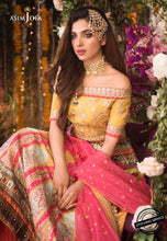 Load image into Gallery viewer, ASIM JOFA Naubahar Chiffon Collection 2020 - AJN-10 online Pakistani designer dress Anarkali Suits Party Werar Indian Dresses Pakistani Dresses Eid dresses online shoppingReady made Pakistani clothes UK Eid dresses UK online Eid dresses online shopping readymade eid suits uk eid suits 2019 uk pakistani eid suits uk eid suits 2020 uk Eid dresses 2020 UK