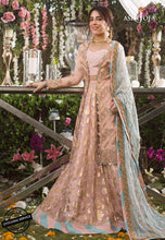 Load image into Gallery viewer, ASIM JOFA Naubahar Chiffon Collection 2020 - AJN-06 online Pakistani designer dress Anarkali Suits Party Werar Indian Dresses Pakistani Dresses Eid dresses online shoppingReady made Pakistani clothes UK Eid dresses UK online Eid dresses online shopping readymade eid suits uk eid suits 2019 uk pakistani eid suits uk eid suits 2020 uk Eid dresses 2020 UK