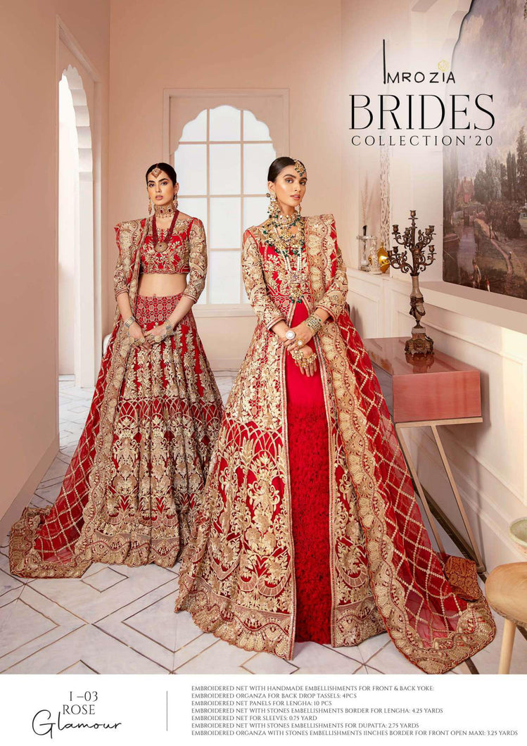 Imrozia Bridal Collection 2020 | IB-03 Rose Glamour