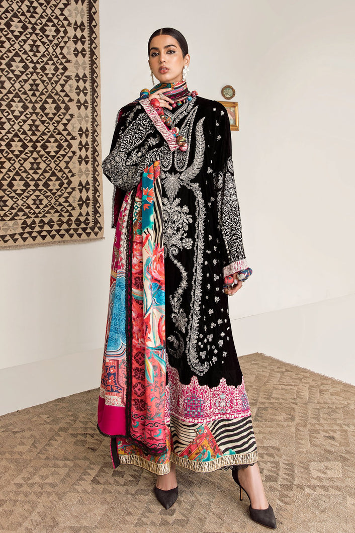 ELAN WINTER COLLECTION 2020 - EW20-02 PAKISTANI DRESSES & READY MADE PAKISTANI CLOTHES UK. Buy Now Elan UK Embroidered Collection of Winter Lawn, Original Pakistani Brand Clothing, Unstitched & Stitched suits for Indian Pakistani women. Next Day Delivery in the UK. Express shipping to USA, France, Germany & Australia.