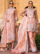 Load image into Gallery viewer, Zainab Chottani Jamdani Wedding Festive 2019 Mehar - LebaasOnline