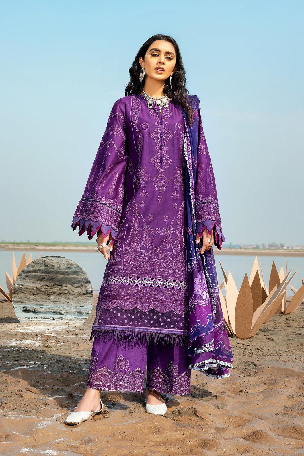 Buy Baroque Embroidered Summer Collection 2021 | Allium Purple Dress at exclusive price. Shop Pakistani designer clothes of BAROQUE LAWN, dress pak for Evening wear available at LEBAASONLINE on SALE prices Get the latest Pakistani dresses unstitched and ready to wear eid dresses in Austria, Spain, Birhamgam & UK!