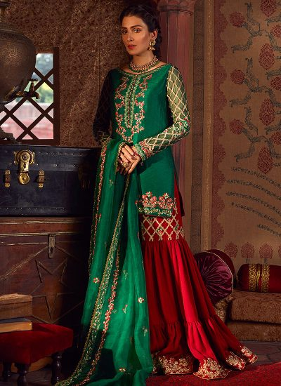 Qalamkar Wedding Suits 104 - LebaasOnline