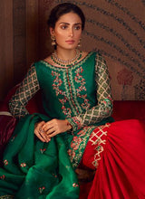 Load image into Gallery viewer, Qalamkar Wedding Suits 104 - LebaasOnline