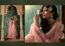 Load image into Gallery viewer, Pink Indian Lehenga by Mohini Glamour - DN78002