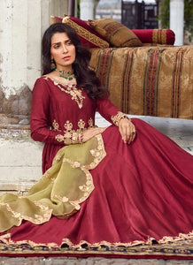 Qalamkar Wedding Suits 106 - LebaasOnline