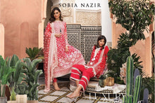 Load image into Gallery viewer, Sobia Nazir's Luxury Lawn Collection 2020 - 1B online Pakistani designer dress Anarkali Suits Party Werar Indian Dresses Pakistani Dresses