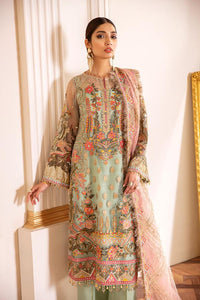 CAPRI SEA - Baroque Chantelle Chiffon Pakistani Suit