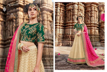 Load image into Gallery viewer, Golden Lehenga by Nakkashi 2020 - LebaasOnline