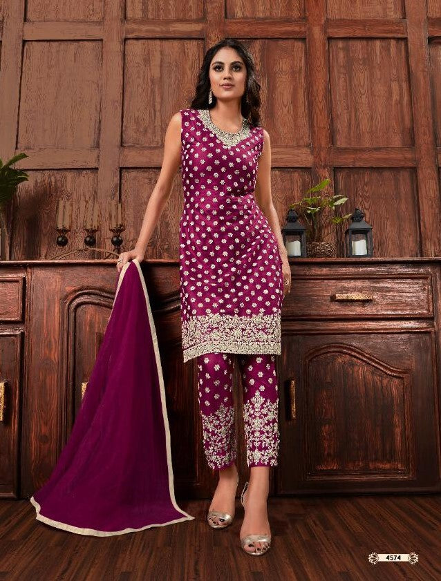 Vipul Fashion Pristine - 4574