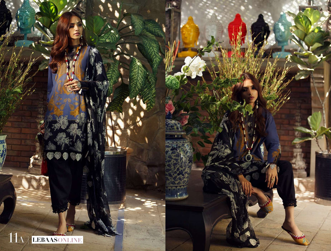SANA SAFINAZ Spring / Summer 2020 MAHAY 11A Lawn Suit online Pakistani designer dress Anarkali Suits Party Werar Indian Dresses Pakistani Dresses