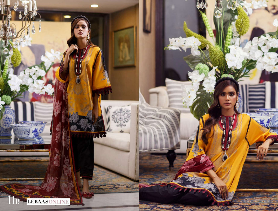 SANA SAFINAZ Spring / Summer 2020 MAHAY 11B Lawn Suit online Pakistani designer dress Anarkali Suits Party Werar Indian Dresses Pakistani Dresses