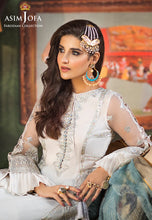 Load image into Gallery viewer, Asim Jofa Sharara Suit -A luxurious embroidered outfit ideal for any wedding, Eid, Diwali Party and celebrations. Shop Asim Jofa Party Wear Suits UK Online at LebaasOnline - Branded Pakistani designer dresses - SALE. Buy Now Asim Jofa Wedding Sharara Suit collection 2020 Unique and Ready Made Party Wear Sharara in the UK and USA with discount price !