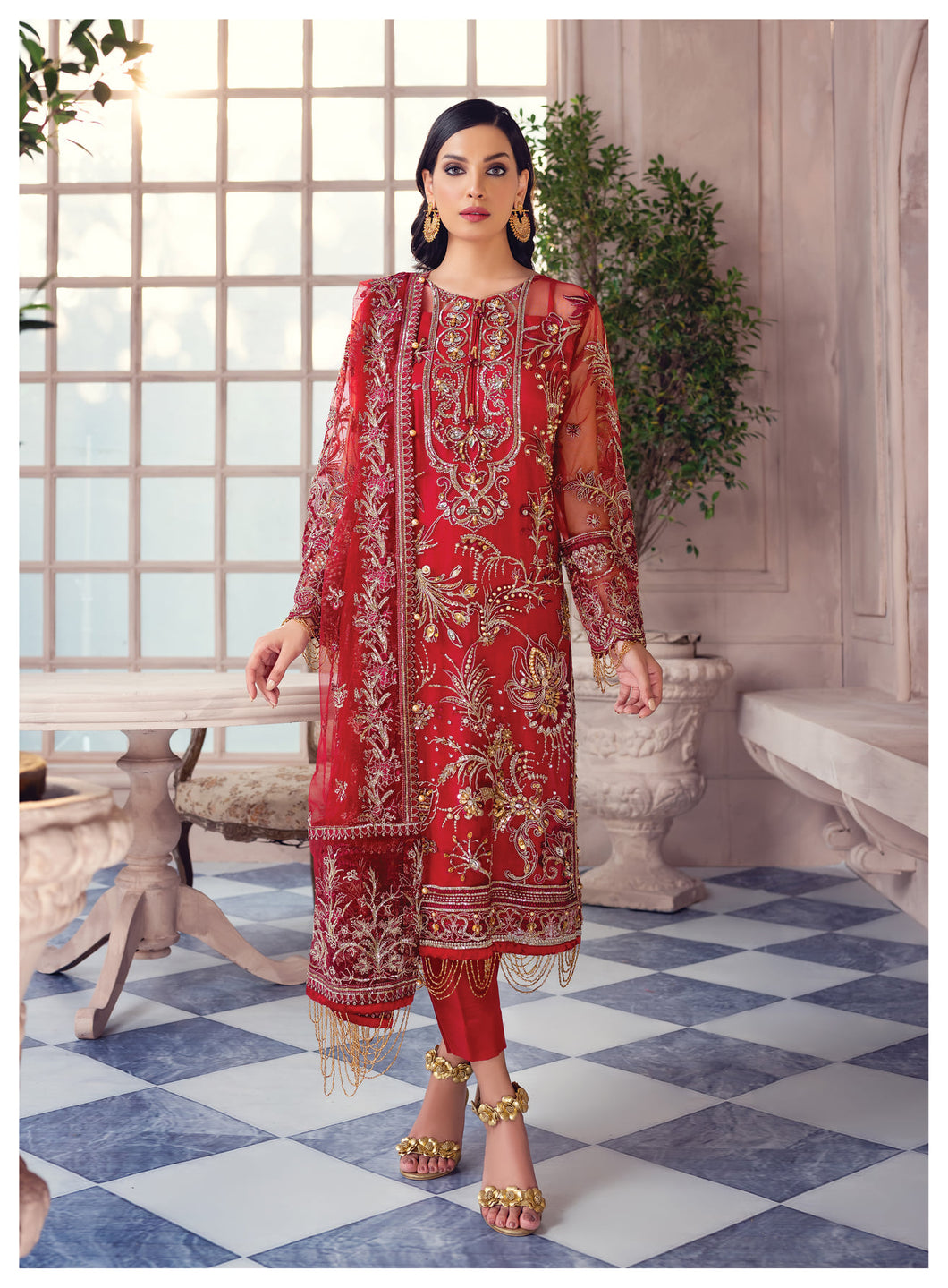 Buy GULAAL Alayna AG-06 Maven Pakistani Designer Party Wear Suit from Lebaasonline at best price .