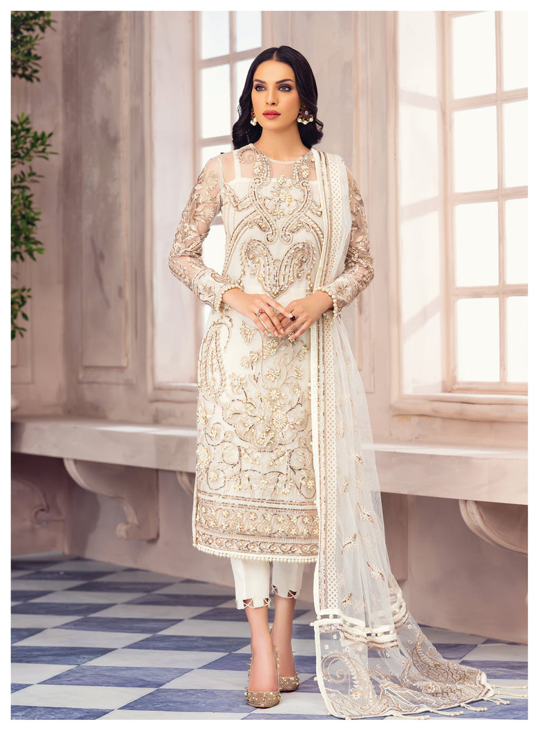 Buy GULAAL Alayna AG-04 Inzar Pakistani Designer Party Wear Suit from Lebaasonline at best price .