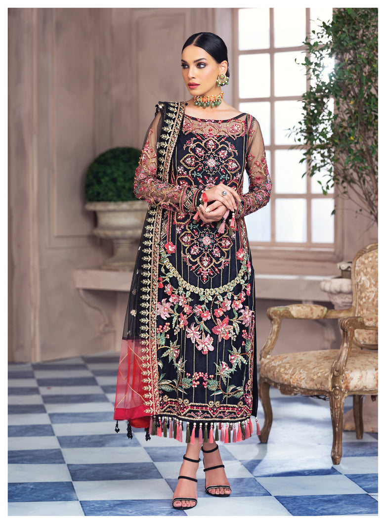 Buy GULAAL Alayna AG-07 Ester Pakistani Designer Party Wear Suit from Lebaasonline at best price .