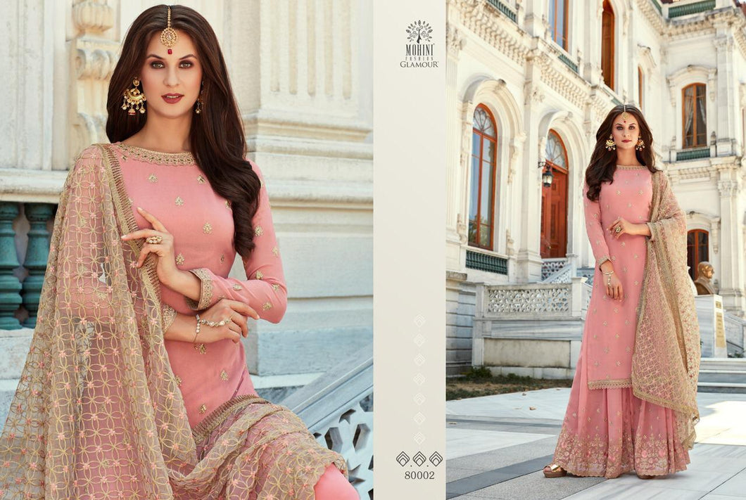 Pink Indian Sharara by Mohini Glamour - DN80002