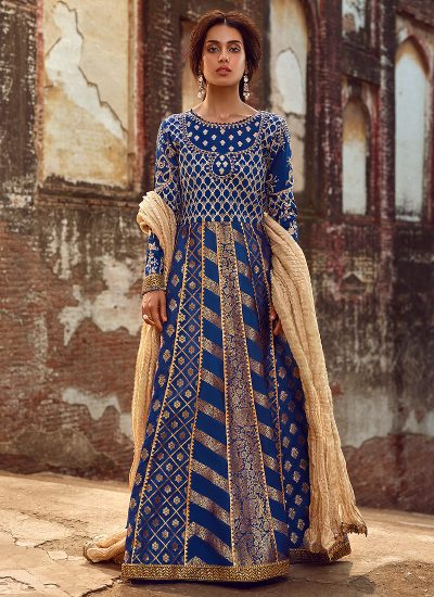 Qalamkar Wedding Suits 115 - LebaasOnline