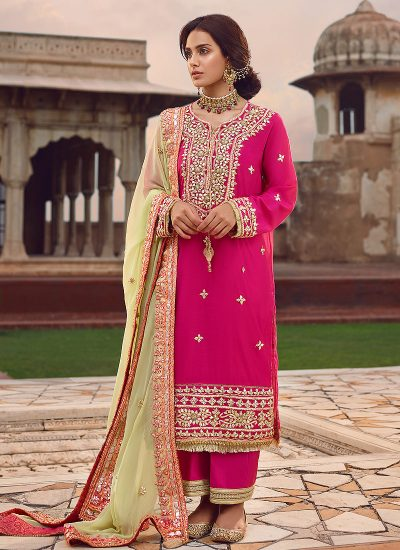 Qalamkar Wedding Suits 117 - LebaasOnline