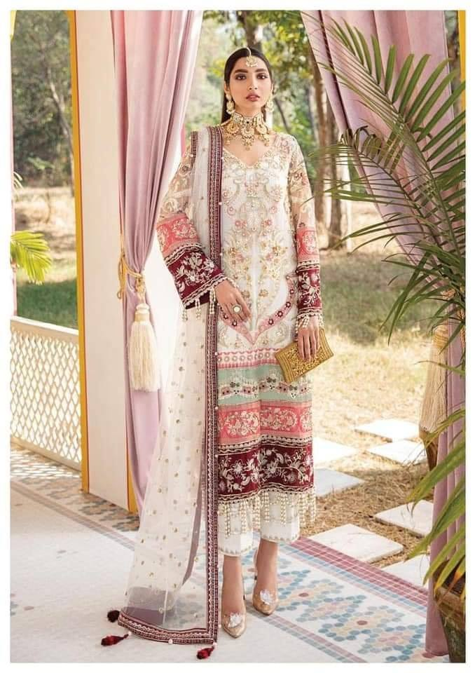 Buy GULAAL | Luxury Formals Wedding Collection 2020 -Mehrunnisa WD 02 from Lebaasonline Pakistani Clothes Stockist in the UK at best price- SALE ! Shop Now Pakistani Clothes Online UK for Wedding, Party & Bridal Wear. Indian & Pakistani Dresses Unstitched and Stitched Ready to Wear Embroidered by Gulaal in the UK & USA .
