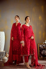Load image into Gallery viewer, Iznik Designer Suit Wedding 2020- OIC-05 SCARLET RED