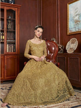 Load image into Gallery viewer, AYANN by Vipul 2020 Designer Anarkali Gowns - Gold