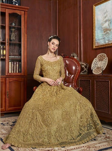 AYANN by Vipul 2020 Designer Anarkali Gowns - Gold