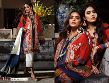 Load image into Gallery viewer, SANA SAFINAZ Spring / Summer 2020 MAHAY 15A Lawn Suit online Pakistani designer dress Anarkali Suits Party Werar Indian Dresses Pakistani Dresses