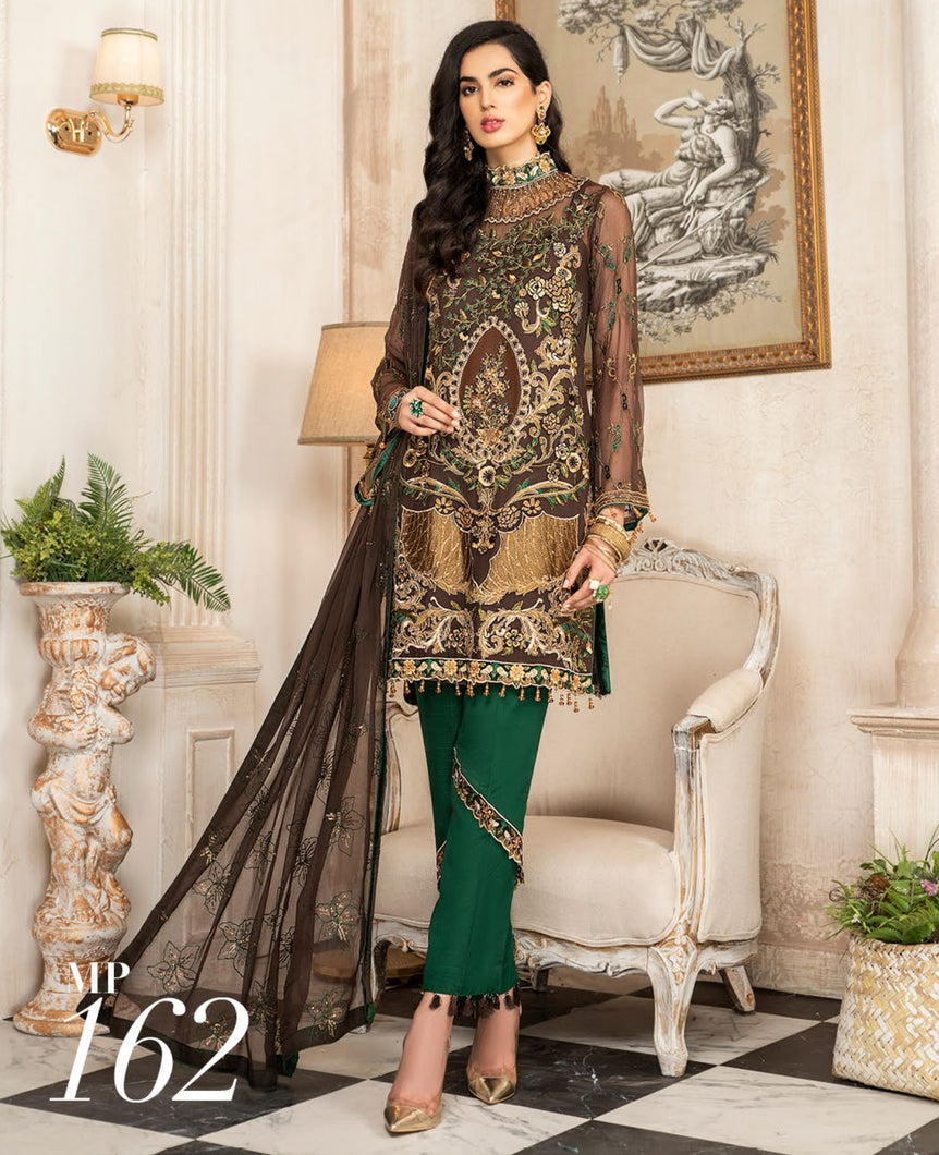 Maryam's Chiffon Eid and Wedding Collection 2020 - MP 162