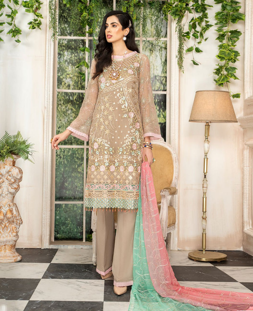 Maryam's Chiffon Eid and Wedding Collection 2020 - MP 167