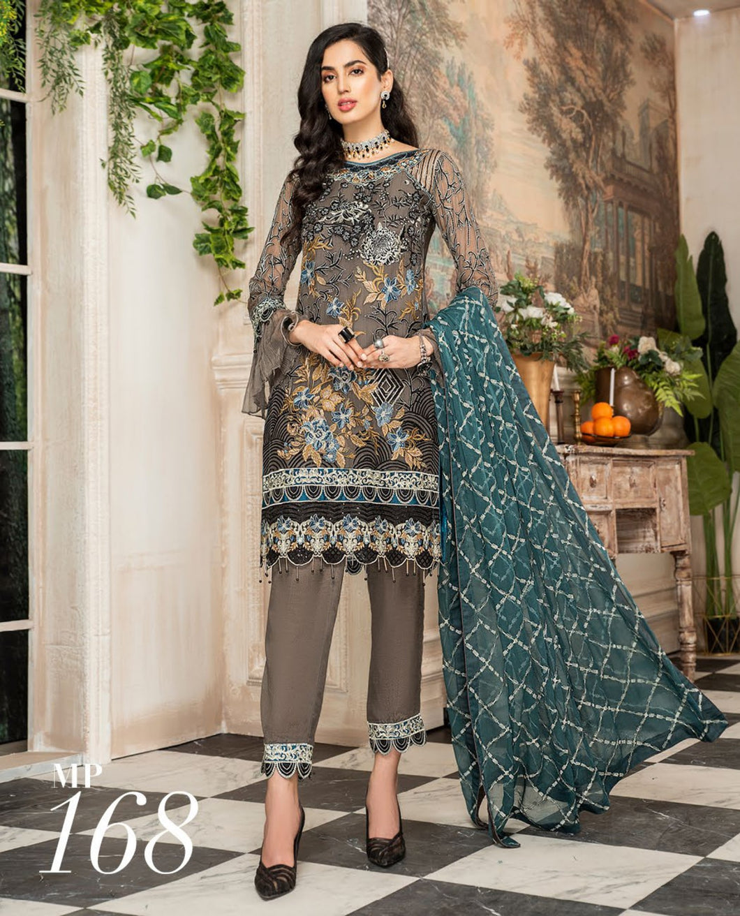 Maryam's Chiffon Eid and Wedding Collection 2020 - MP 168