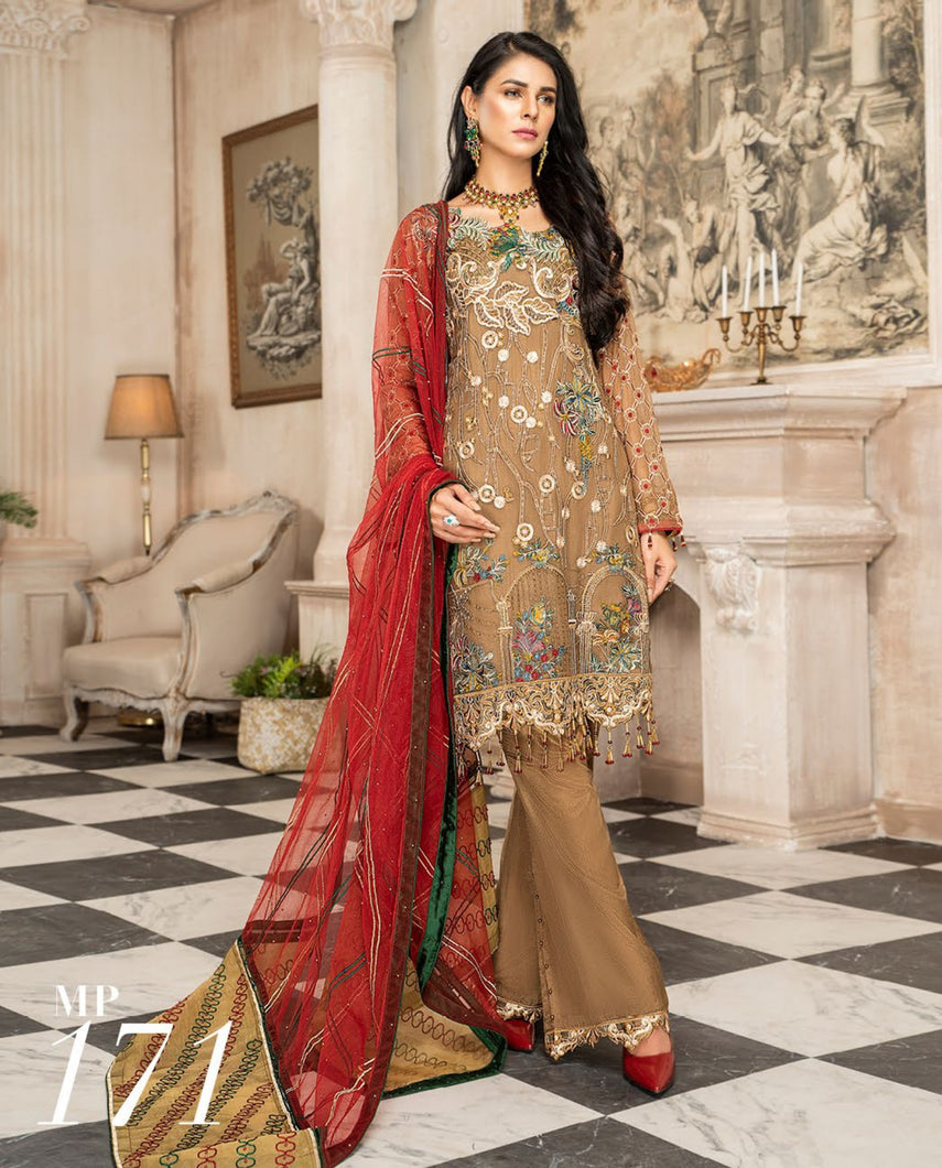 Maryam's Chiffon Eid and Wedding Collection 2020 - MP 171