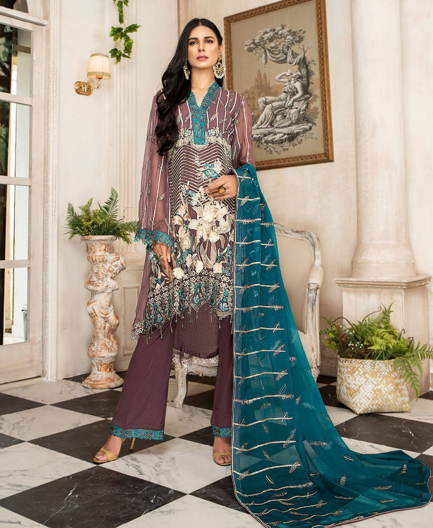 Maryam's Chiffon Eid and Wedding Collection 2020 - MP 172