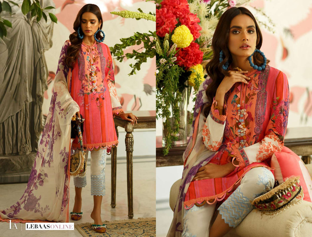SANA SAFINAZ Spring / Summer 2020 MAHAY 1A Lawn Suit online Pakistani designer dress Anarkali Suits Party Werar Indian Dresses Pakistani Dresses