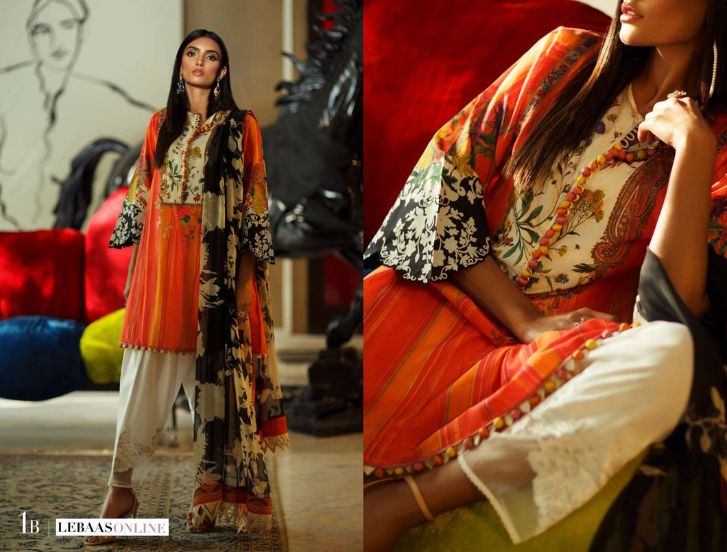 SANA SAFINAZ Spring / Summer 2020 MAHAY 1B Lawn Suit online Pakistani designer dress Anarkali Suits Party Werar Indian Dresses Pakistani Dresses