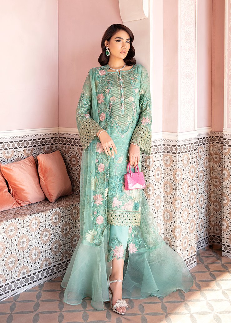 Afrozeh 2021 - Nauratan | MUSHQ - Blue : Buy Afrozeh  Pakistani clothing brand at our Online store. Lebaasonline Has all the latest Women`s Clothing Collection of Salwar Kameez, Indian & Pakistani  Bridal and Wedding Party attire Collection. Shop Afrozeh 2021 - Nauratan ORIGINAL DESIGNER DRESSES IN THE UK ONLINE.
