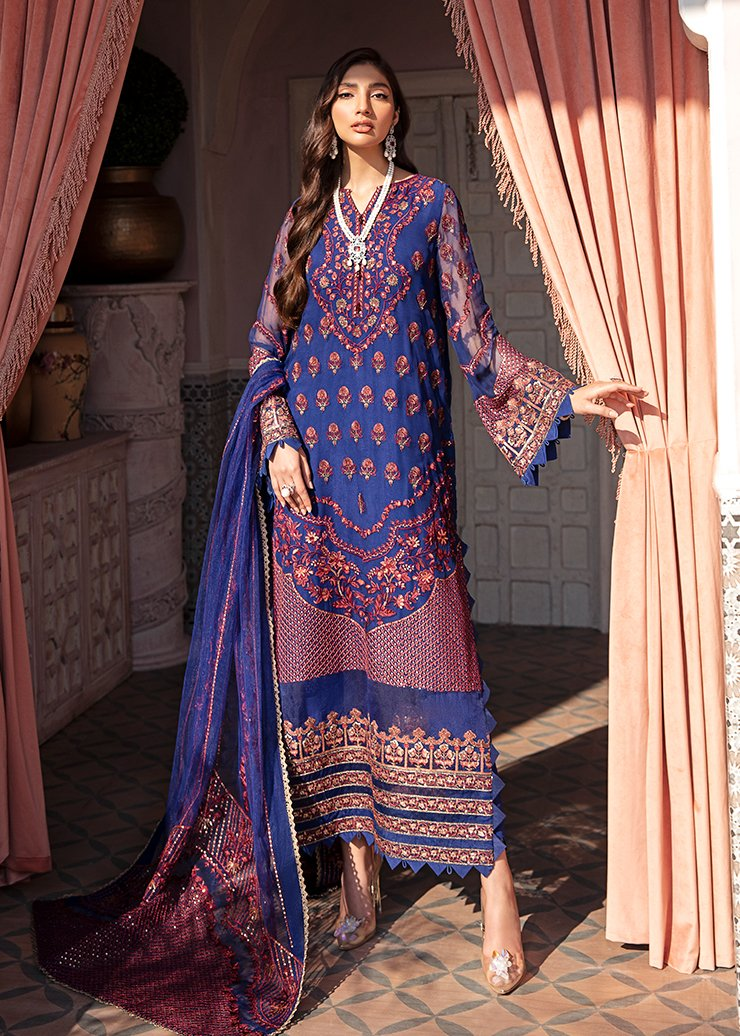 Afrozeh 2021 - Nauratan | LORI - Blue : Buy Afrozeh  Pakistani clothing brand at our Online store. Lebaasonline Has all the latest Women`s Clothing Collection of Salwar Kameez, Indian & Pakistani  Bridal and Wedding Party attire Collection. Shop Afrozeh 2021 - Nauratan ORIGINAL DESIGNER DRESSES IN THE UK ONLINE.